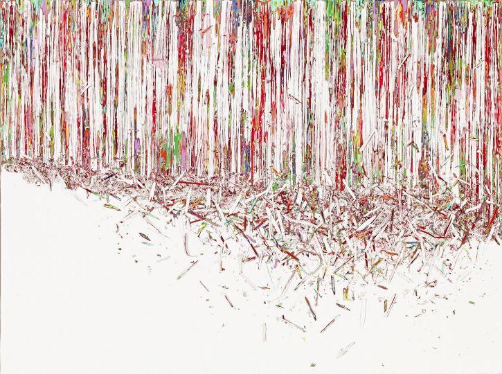 Hur Kyung-Ae painting Kalman Maklary Fine Arts