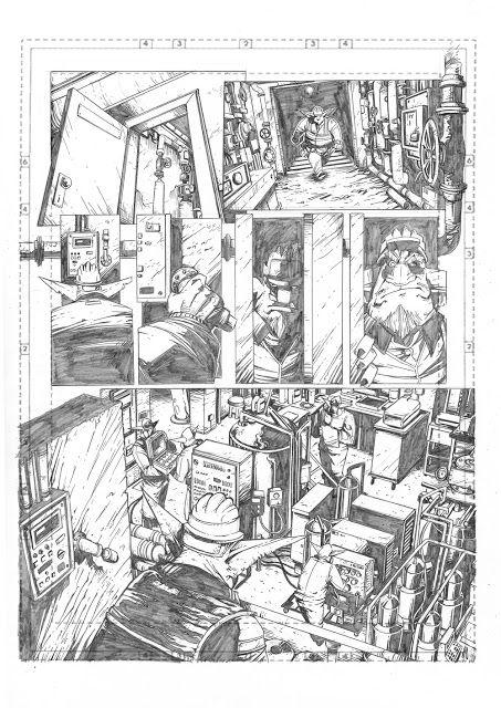 Marco Maccagni's Artworks: Archon#3 page12