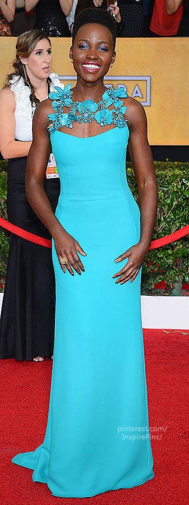 Lupita Nyong'o Screen Actors Guild 2014, Gucci