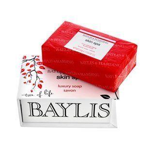 Baylis & Harding Luxury Boxed Soap (200g) (Skin Spa - Rose Ylang Ylang and Patchouli) by Baylis & Harding. Save 44 Off!. $12.97. Imported from England. Not Tested on Amimals. 200g Bar. Triple Milled Soap. A beautifully fragranced soap tablet in an ornate presentation box. Baylis & Harding soaps are renowned for their fine ingredients, moisturising properties and heavenly scents. Our boxed 200g soap doesn't disappoint. It creates a subtle yet piquant aroma. This debossed tablet is wrapped...