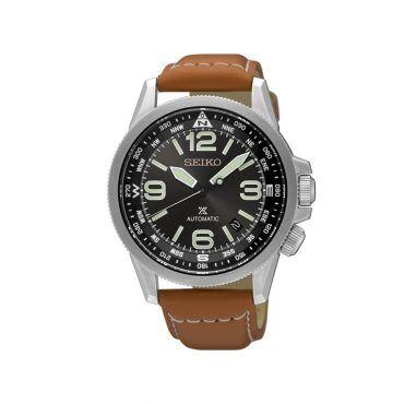 SEIKO ρολόγια - SRPA75K1- Ανδρικό ρολόι SEIKO Prospex με εσωτερική περιστρεφόμενη πυξίδα, με ημερομηνία και λουρί | ΤΣΑΛΔΑΡΗΣ στο Χαλάνδρι #Seiko #prospex #μαυρο #λουρι #ρολοι