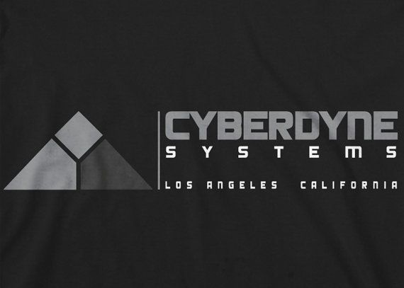 The Terminator Cyberdyne Systems Mens Fit T Shirt