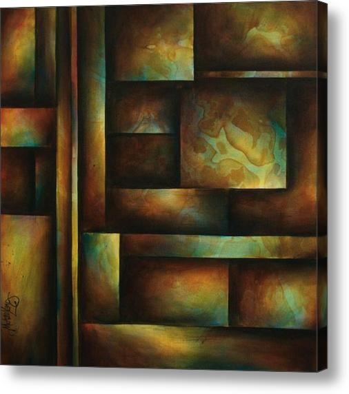 Ascending light canvas print canvas art by michael lang