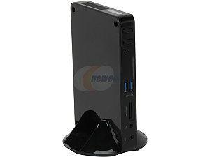 Foxconn NanoPC nT-i1250 Intel NM10 1 x 204Pin Intel GMA 3650 Black Mini / Booksize Barebone System