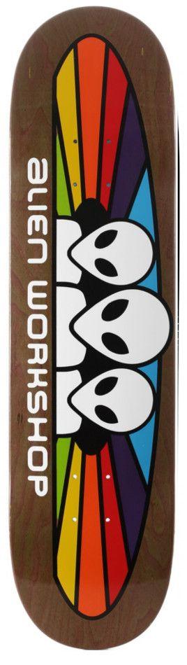 Alien Workshop Spectrum 8.25 Skateboard Deck