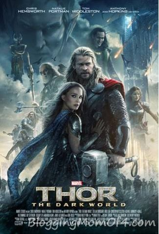 THOR: The Dark World New Movie Poster #ThorDarkWorld.  Visit http://bloggingmomof4.com/category/disney/ to see my Hollywood adventures and learn more about other great movies.