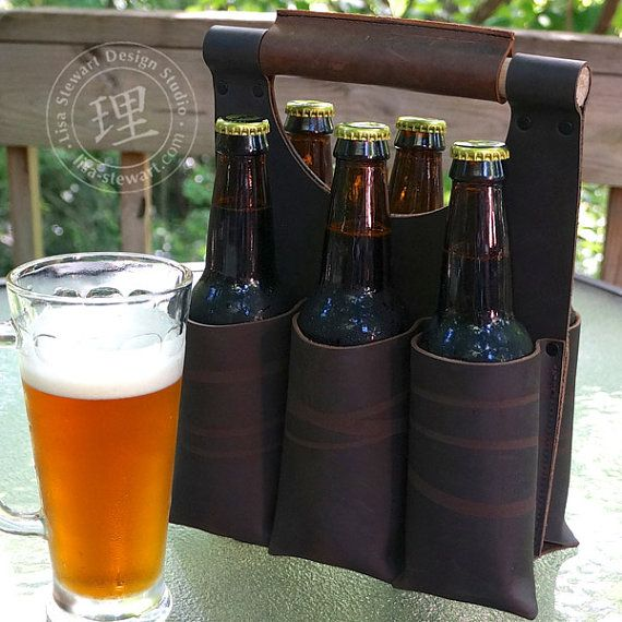New from the studio: Six Pack Totes for your beer or favorite beverage!    [Made Upon Order]    Now, this is the perfect way to mix/match