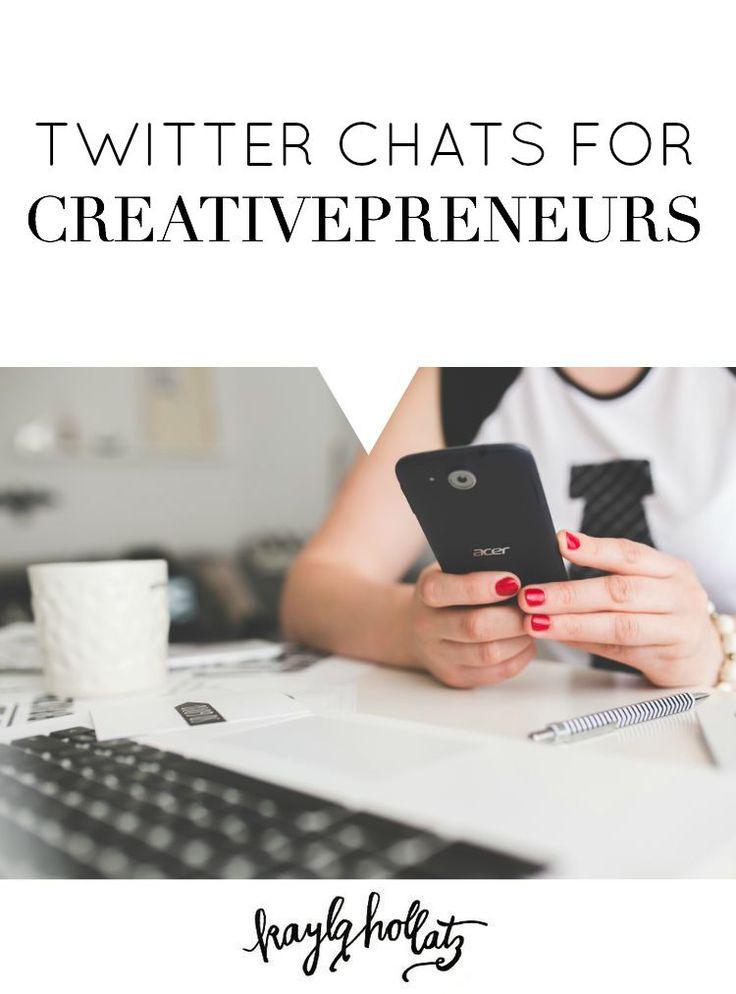 Twitter Chats for Creativepreneurs
