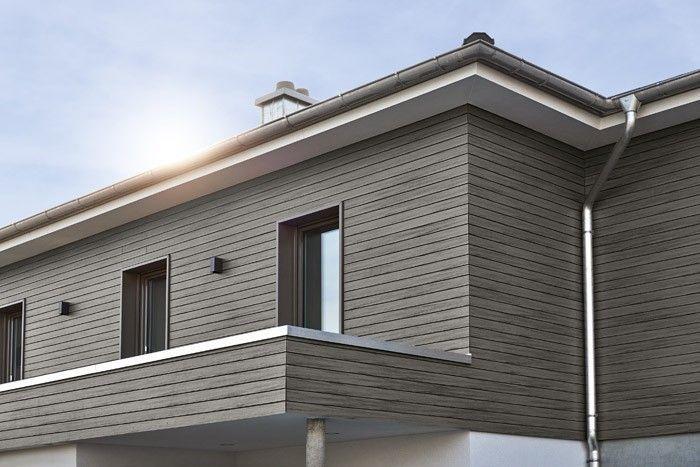 Modernes Haus Sunshine 144 V4 Living Haus Hausbaudirekt In 2020 Holzverkleidung Fassade Rhombus Fassade Fassade