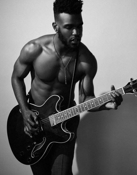 Luke James ; sexy, chocolate and can play the guitar. Swoon.
