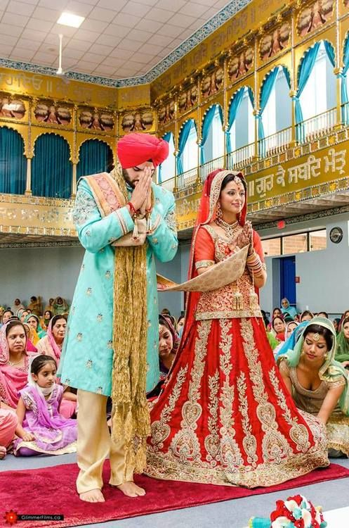 Sikh Marriage | Photo by Glimmer Films