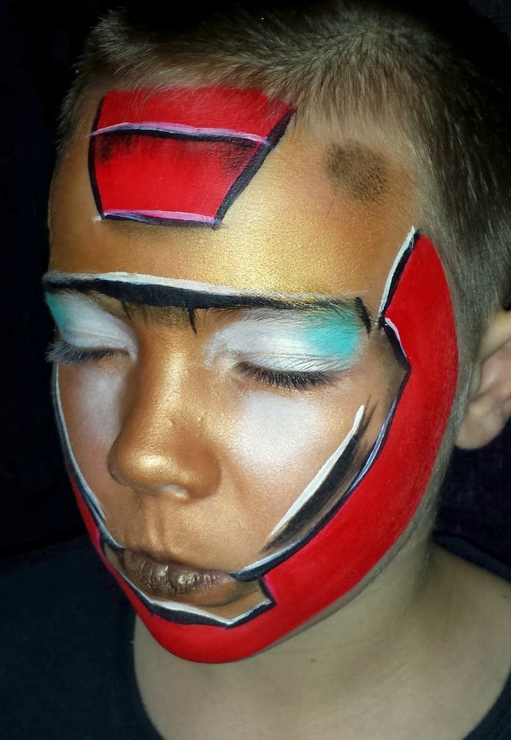 145 best Face Paint Other Superheroes images on Pinterest ...
