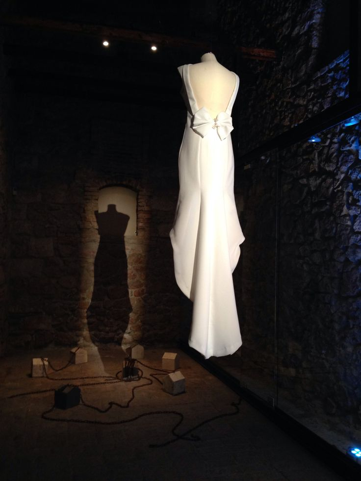 Teti Charitou white dress