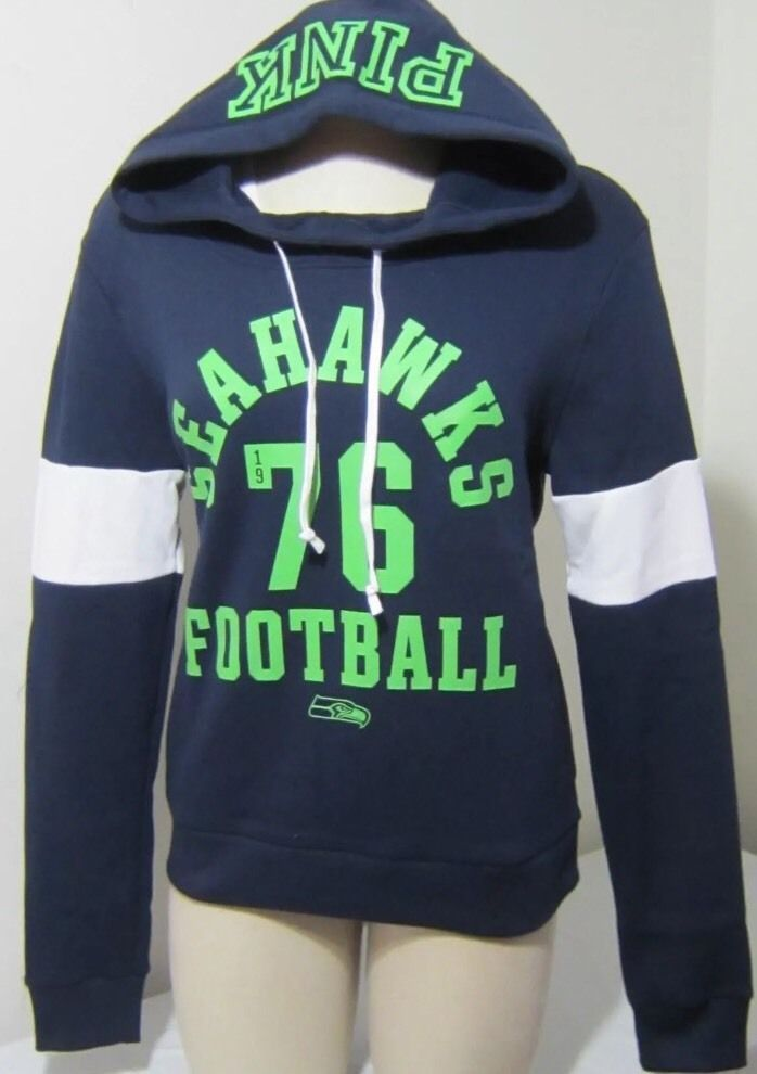 save off 88f40 ee847 WOW VICTORIA'S SECRET LOVE PINK SEATTLE SEAHAWKS HOODIE ...