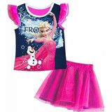 Frozen - T-shirt and Tutu Skirt | Kids Character Clothing, Bedding and Accessories | Cooldudes Kids Australia