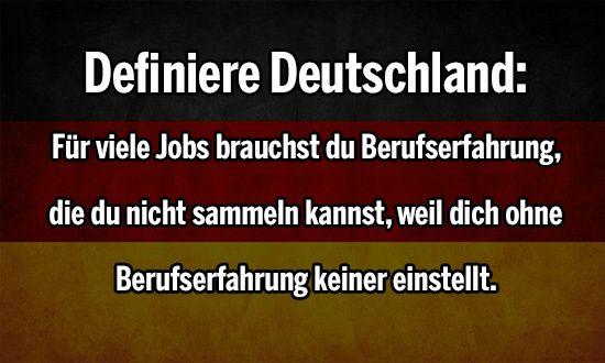 Definiere Deutschland