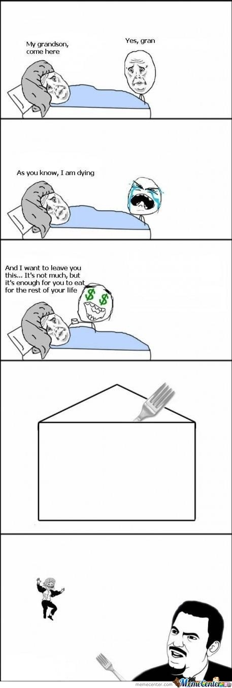 Funny but terrible!  Awwwww, My Dad Troll Me Again - Posted in Funny, Troll comics and LOL Images - Mix Pics