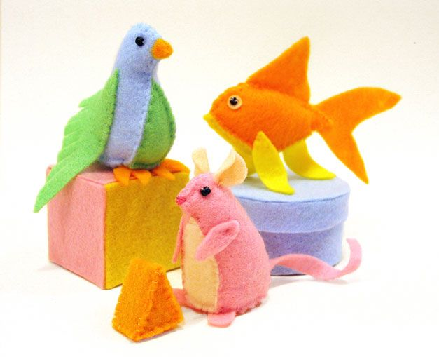 Cute Craft Tutorials, Handmade Toys, Printable Crafts, Kawaii Plush by Fantastic Toys: Cat Toy Critters Tutorial