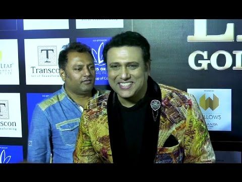Govinda at Lions Gold Awards 2016.
