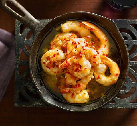 Garlic prawns recipe - Better Homes and Gardens - Yahoo!7