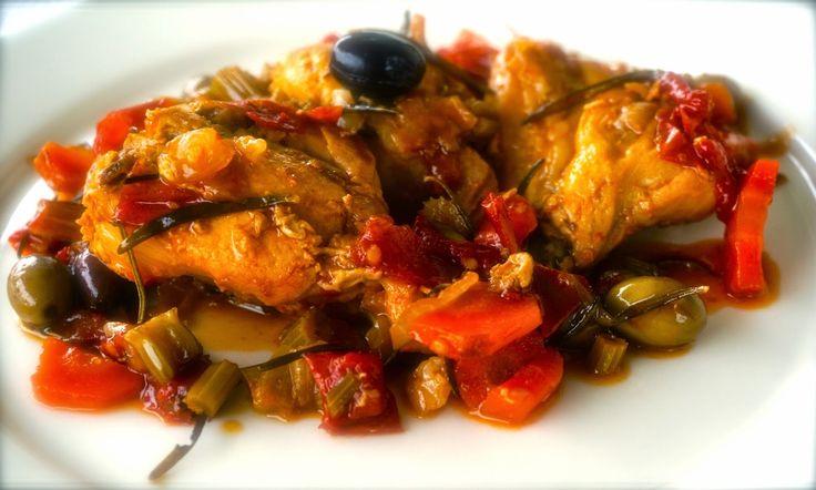 Impara a cucinare come uno chef: #Coniglio in umido con #olive taggiasche
