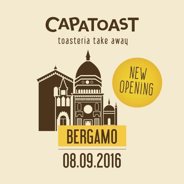 Ricominciamo alla grande! 😎  Terzo store in Lombardia. Diventiamo maggiorenni in Italia! New Opening • Store n. 18 Capatoast BERGAMO 🍞😊