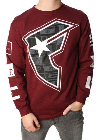 Famous Stars And Straps Men's Dark Flag BOH Graphic T-Shirt