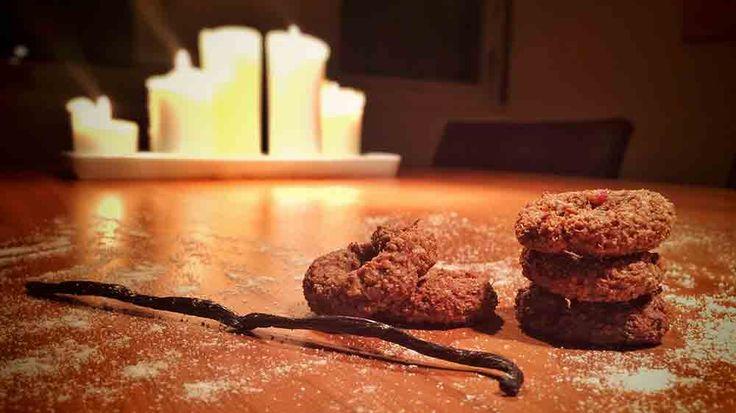 Rustikke vaniljekranse: Ikke nødvendigvis kønne - hvilket ikke forhindrer dem i at smage godt ...