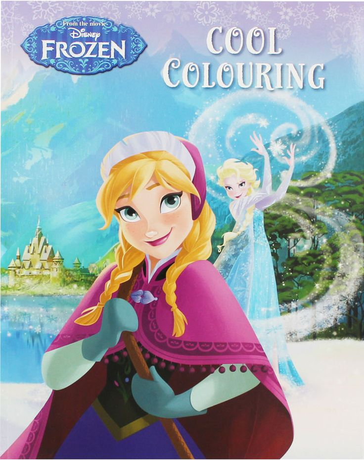 Buku Aktifitas Bahasa Inggris : Disney Frozen Cool Colouring (From the Movie)