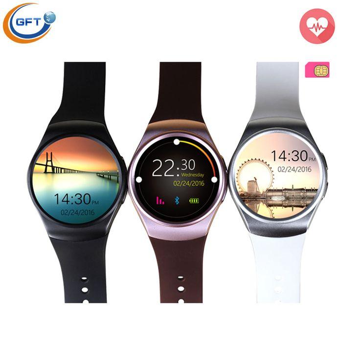 GFT Bluetooth Smart Uhr Gesundheit Mp3 Schrittzähler Android Smartwatch kw18 mit Sim-karte Handy GSM Tragbares Gerät Telefon smart wach //Price: $US $78.29 & FREE Shipping //     #smartuhren