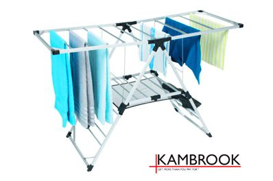 KAMBROOK 300W 17-Rail Heated Clothes Rack $118.98 (sold out)