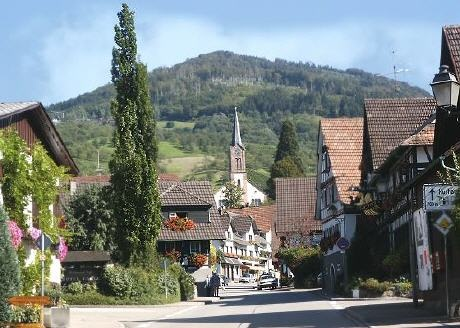 Achern, Black Forest in Germany...Almost one year trekking around