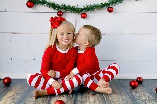 Personalized Kids Christmas PJs - Kids Christmas Jammies - Kids Xmas Pajamas…