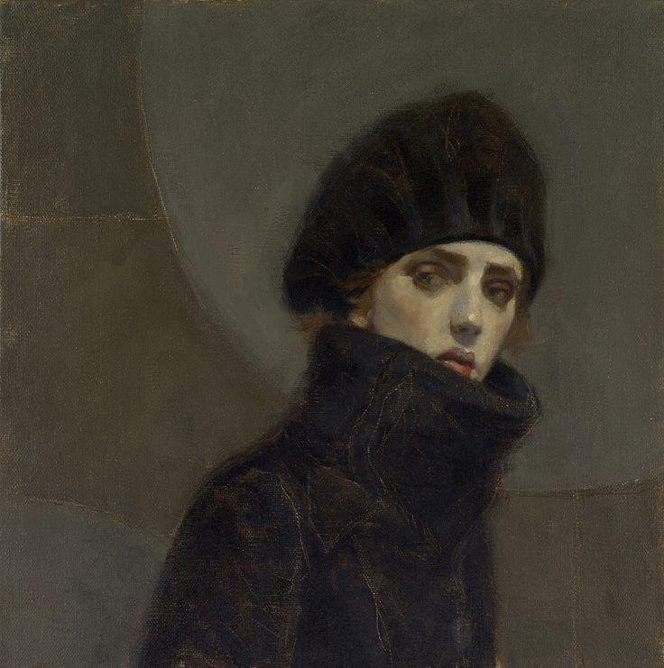 Portrait of a Lady  -  Jan Mankes , nd.  Dutch 1889-1920