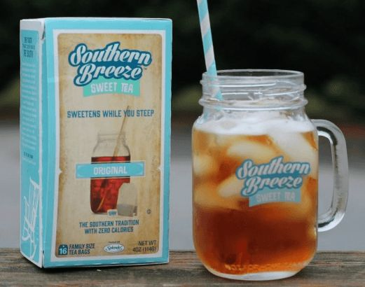 FREE SAMPLE Southern Breeze Sweet Tea - Brought to you by www.Freebies4MeBeez.com - The Best source of freebies, samples and deals!