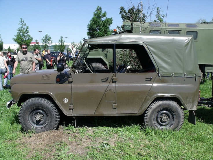 Russian Military Vehicle Jeep