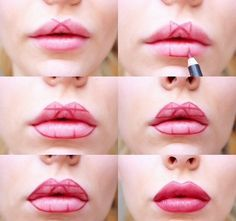 Elle marque des formes géométriques sur ses lèvres et le résultat est génial! - Trucs et Astuces - Des trucs et des astuces pour améliorer votre vie de tous les jours - Trucs et Bricolages - Fallait y penser !