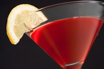 Blueberry Martini Recipe Made with Ultimat Vodka