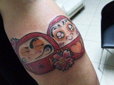 #Daruma #Cubo #Tattoo