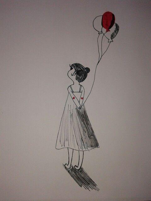 Girl's ballon * Val♥