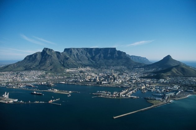 Capetown, South Africa - Table Mountain. I've been here!