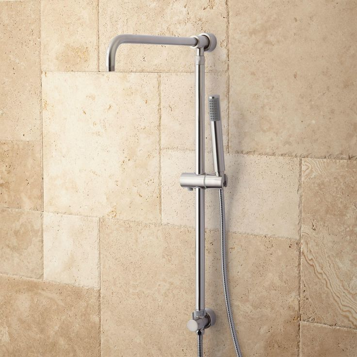 Hawick Shower System Riser With Hand Shower Shower