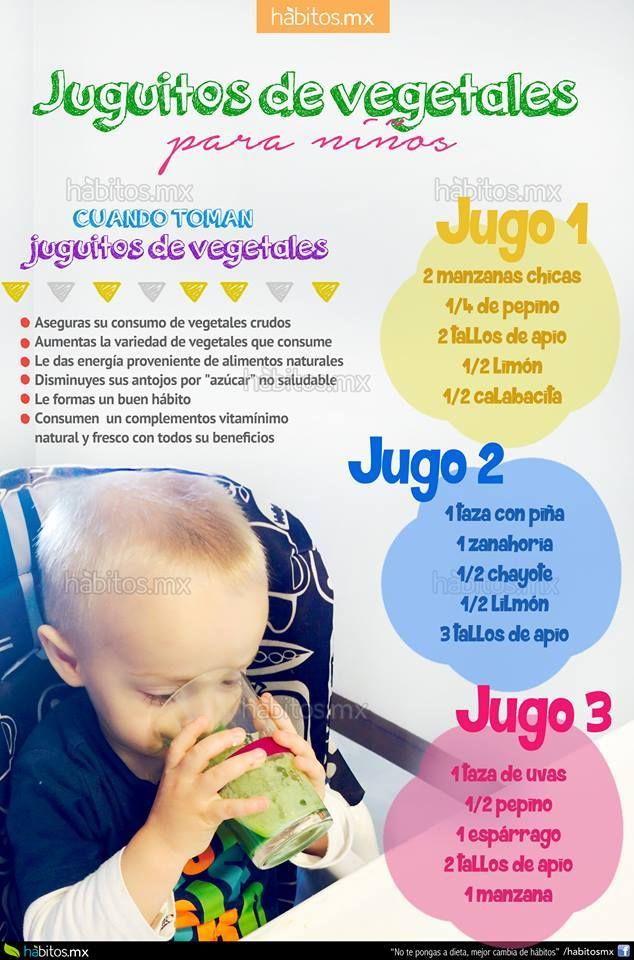 Hábitos Health Coaching | JUGUITOS DE VEGETALES PARA NIÑOS