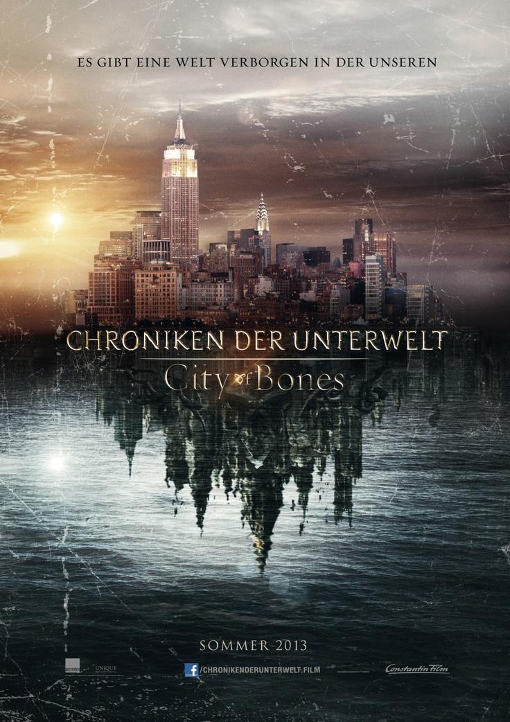 Das Teaserplakat zu Chroniken der Unterwelt - City of Bones! Ab 29. August 2013 im Kino
