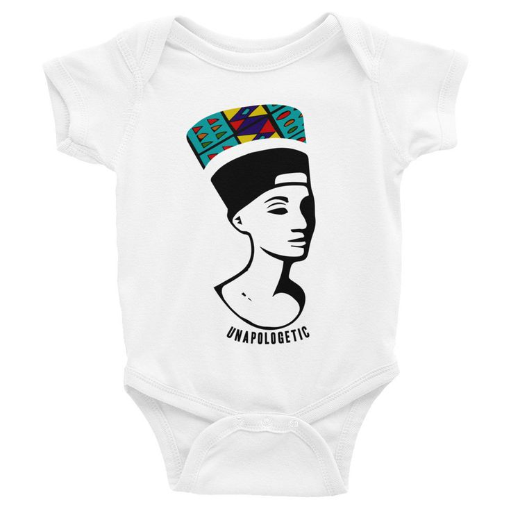 Queen Nefertiti Infant Bodysuit - Sizes : NB - 24M