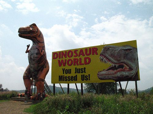 Dinosaur World Bowling Green Ky Because What 39 S A Family