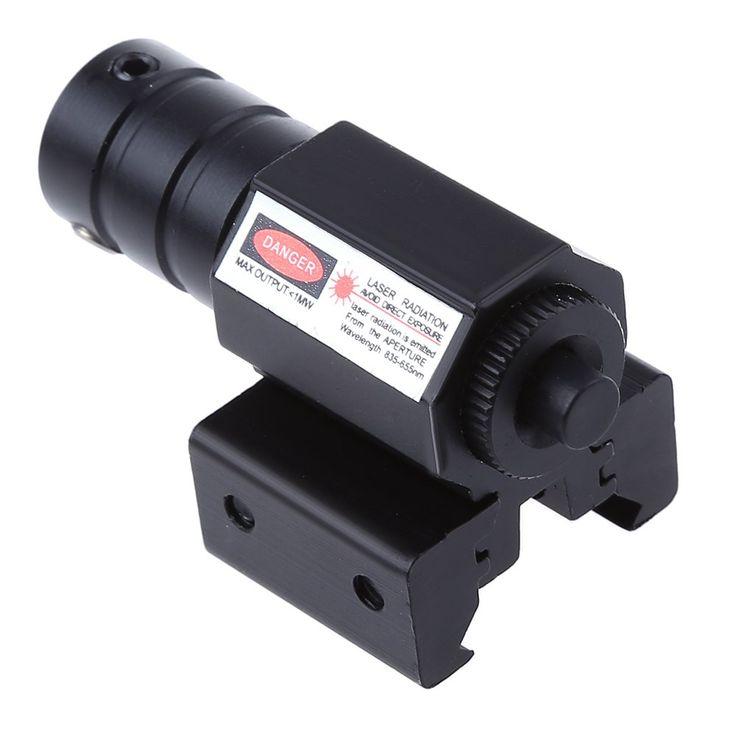 8833 JG 50-100 Meters Rentang 835-655nm Pistol Rifle Picatinny Weaver Rail Red Dot Laser Sight Gunung Berburu optik