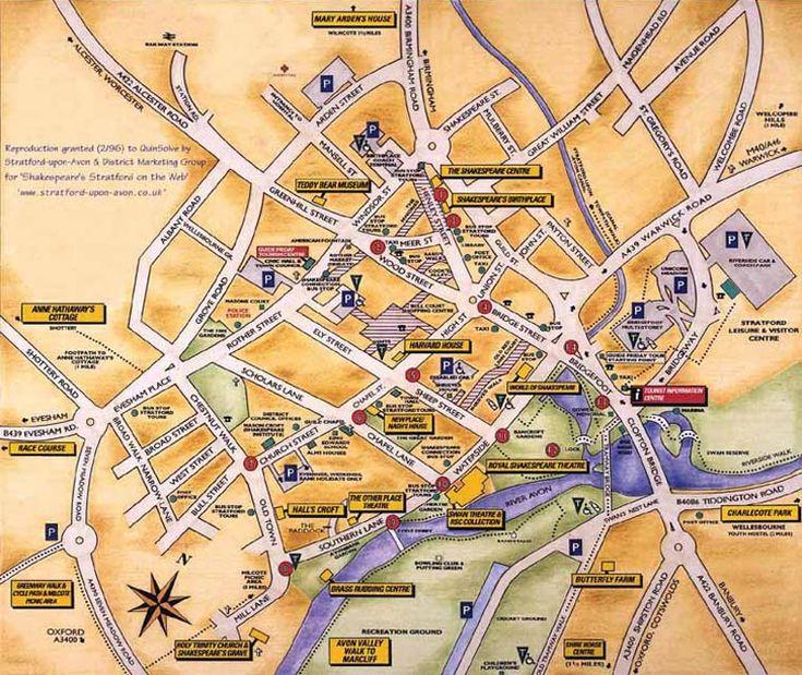 Walking tour of Stratford upon Avon