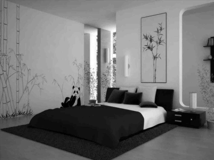 This Black And White Bedding Tumblr   Purple Bedding On White Room With  Black Wood Modern Canopy Bed And Cream Living Brown Excerpt . Room Decor  Ideas ... Part 88