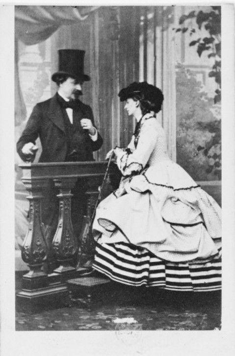 Le duc et la duchesse de Morny